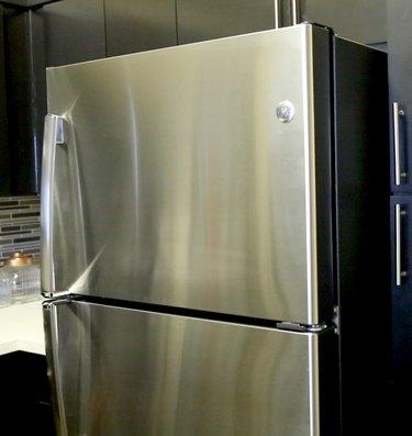 Polished fridge