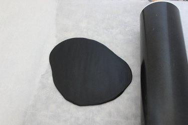 black fondant