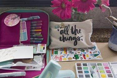 A DIY Shadow Box to Capture Road Trip Memories