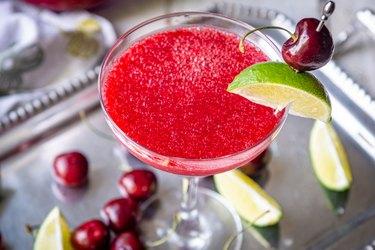 Skinny Cherry Lime Margaritas 140 calories