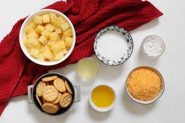 Pineapple casserole ingredients