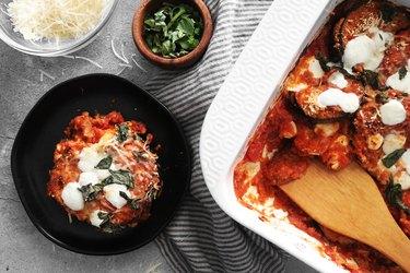 Bake easy eggplant Parmesan recipe