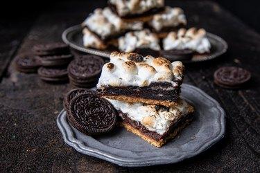S'mOreo Cookie Bars Recipe
