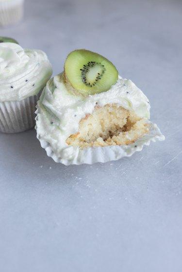 Enjoy the kiwi cupcakes!