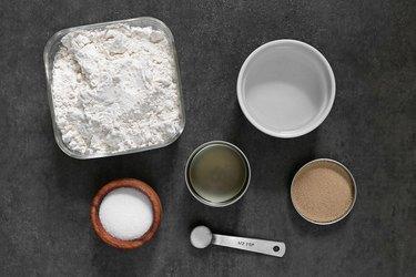 Pretzel dough ingredients