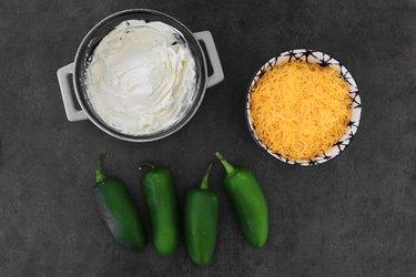 Jalapeño cheese filling