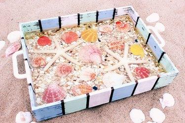 shell tray