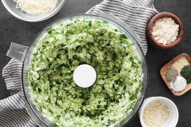 Process the zucchini