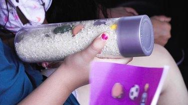 """DIY """"I Spy"""" Bottle Travel Toy"""