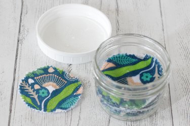 Even your skin care routine can join the zero waste movement with these cute and cheerful reusable makeup remover pads.