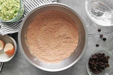 Whisk dry ingredients