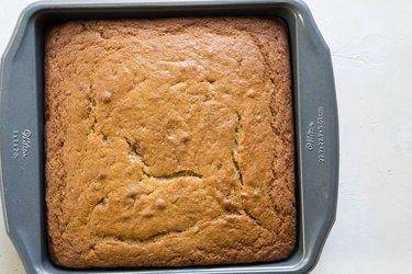 Cake in a cake pan