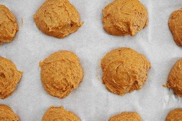 Add batter to baking sheet