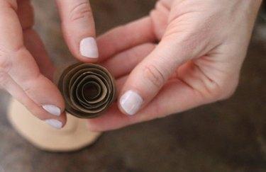Rolled spiral
