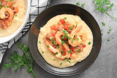 Southern shrimp & grits