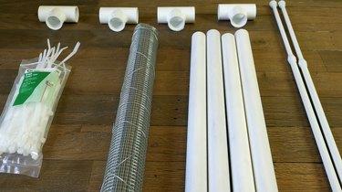 Materials for DIY PVC Pipe Pet Gate