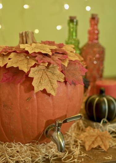 DIY Pumpkin Keg