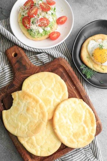 Fluffy cloud bread