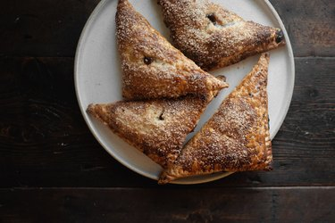 Serve and enjoy your delicious turnovers!