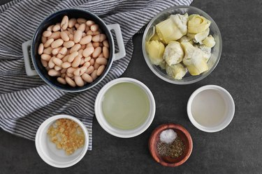 Artichoke white bean dip ingredients