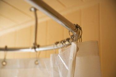 Shower Curtain on Rod