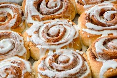 Fresh  homemade Cinnamon rolls or Cinnamon buns