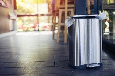 Stainless bin