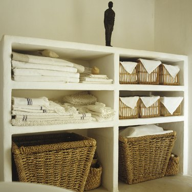 Stylish bathroom storage unit