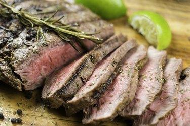 Juicy Grilled Flank Steak