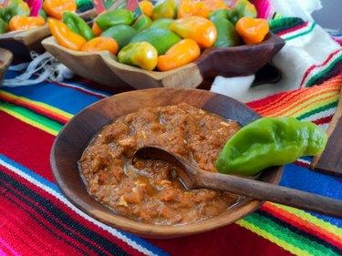 Salsa, mexican food