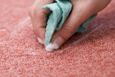 blotting red carpet