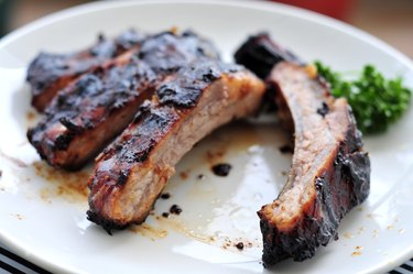 Grilled spare rib