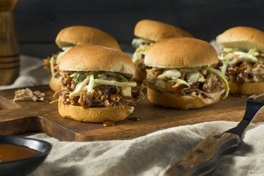 Homemade Pulled Pork Sliders