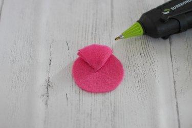 attach one felt petal
