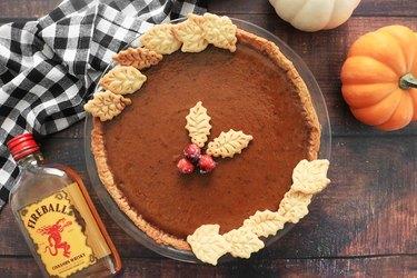 Fireball whisky pumpkin pie recipe