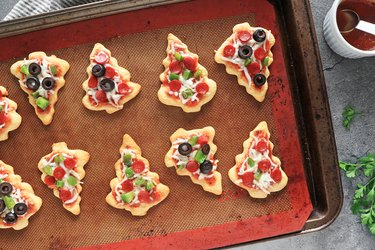 Bake until cheese is melted