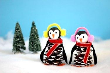 penguin pinecones