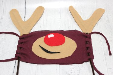 attached antlers