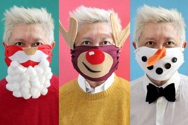 holiday face masks