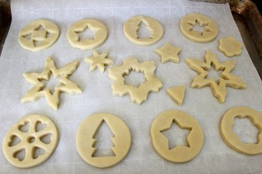 Various cookie shapes