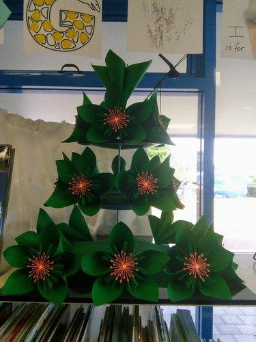 Christine Towgood's New Zealand Pohutukawa Tree (made of paper)