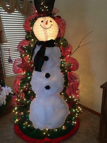 Karen King's Snowman Tree