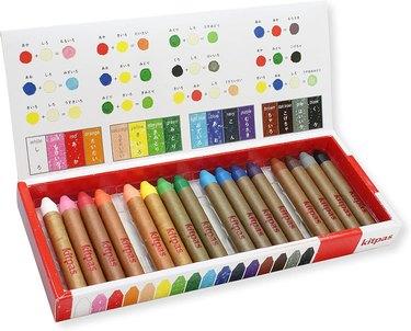 Kitpas Art Crayons box set
