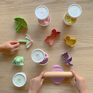 Eco friendly all natural play dough