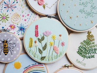 embroidery art by Natalie Gaynor Designs