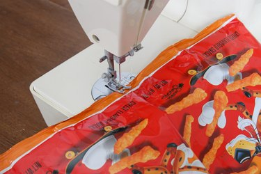sew bags with a zigzag stitch