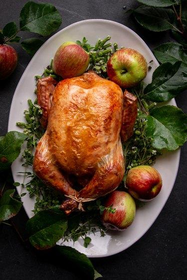 Apple Cider Roast Chicken Recipe
