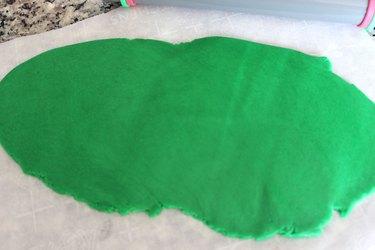 green fondant