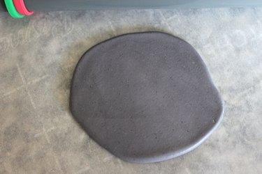 grey fondant
