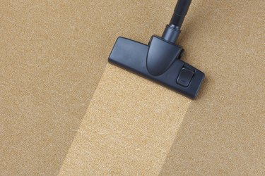 Vacuum cleaner leaving fresh patch on carpet